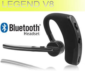 Evogsm.ro: Casca Bluetooth V8 - Autonomie Mare + Extensie Microfon / 20% comision