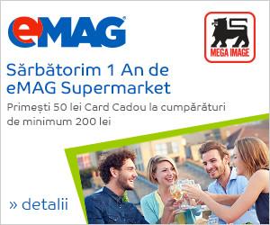 Sarbatorim 1 An de eMag Supermarket