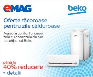 emag.ro: Pana la 40% reducere la aparatele de aer conditionat Beko