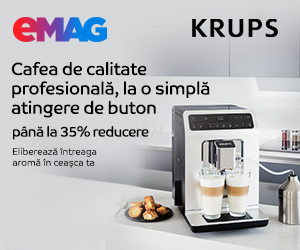 emag.ro: Espressoare Krups - pana la 35%