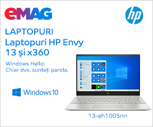 emag.ro: Laptopuri HP Envy cu Windows preinstalat, 02- 13.12.2019