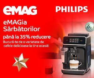 emag.ro: eMAGIA - Espressoare Philips