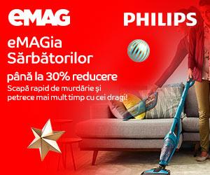 emag.ro: eMAGIA - aspiratoare verticale Philips