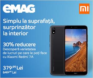emag.ro: Campanie Xiaomi Redmi 7A