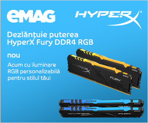 emag.ro: Memorii HyperX Fury DDR4, 11- 17.12.2019