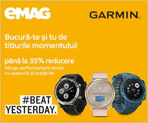 emag.ro: Campanie Garmin