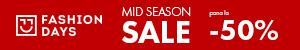 FashionDays.ro: Mid Season Sale - reduceri de pana la 50% la articolele pentru femei
