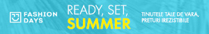 FashionDays.ro: Ready, Set, Summer - preturi irezistibile la articolele pentru barbati