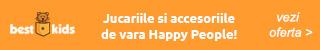 BestKids.ro: Vara si balaceala cu noile oferte Happy People!