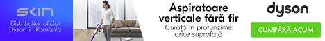 Dyson.skin.ro: Descopera gama de aspiratoare Dyson!