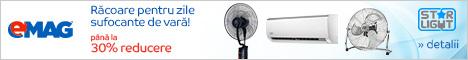emag.ro: Pana la 30% reducere la aparatele de aer conditionat Star-Light