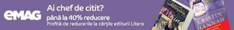 emag.ro: Editura lunii- Litera, octombrie