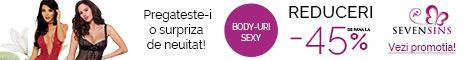 SevenSins.ro: Reduceri de pana la 45% la body-uri!
