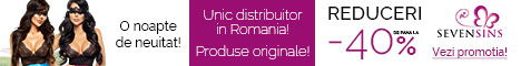 SevenSins.ro: Reducere de pana la 40% la produsele Beauty Night!