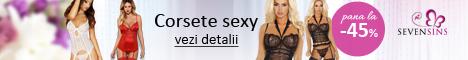 SevenSins.ro: Pana la 45% reducere la corsete sexy!