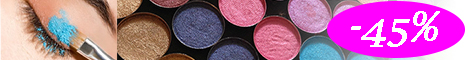 Colorcosmetics.ro: Reduceri de 45% la farduri