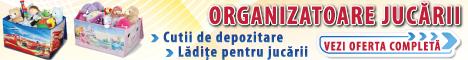 piticulvesel.ro: Cutii de depozitare, ladite, organizatoare jucarii