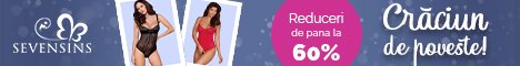 SevenSins.ro: Sarbatori de poveste! Reduceri de pana la 45% la body-uri!