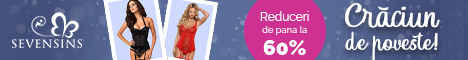 SevenSins.ro: Sarbatori de poveste - Corsete sexy - reduceri de pana la 45%