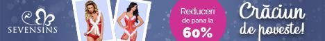 SevenSins.ro: Sarbatori de poveste! Costume sexy - Reducere 45%