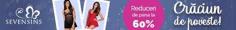 SevenSins.ro: Sarbatori de poveste! 45% reducere la desuuri incitante!