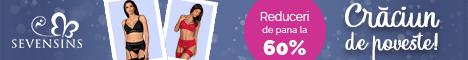 SevenSins.ro: Sarbatori de poveste! 45% reducere la seturi sexy!