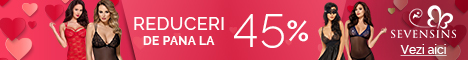 SevenSins.ro: Reduceri de 40% la desuuri incitante! Sarbatoreste primavara cu noi!