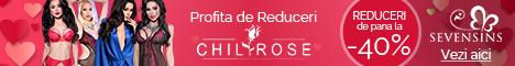 SevenSins.ro: Reduceri de pana la 40% la produsele marca Chilirose!