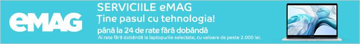 emag.ro: Laptopuri pana la 24 de rate fara dobanda- update octombrie