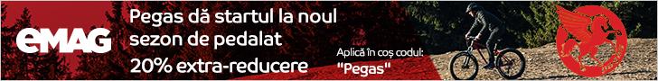 emag.ro: Biciclete Pegas 20% extra-reducere