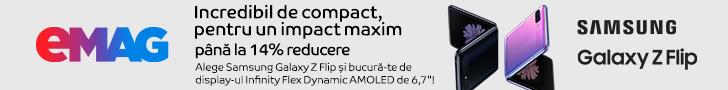 emag.ro: Campanie Samsung Galaxy ZFlip