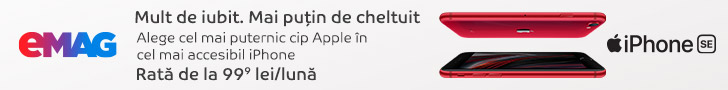 emag.ro: Campanie iPhone SE, 06-19 iulie
