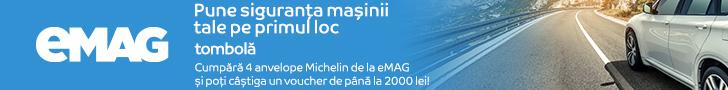 emag.ro: Tombola interna Michelin, 10- 31.07.2020