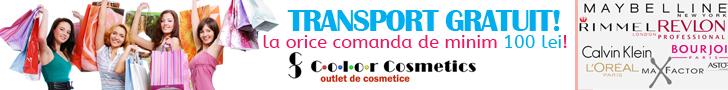 Colorcosmetics.ro: Transport Gratuit!