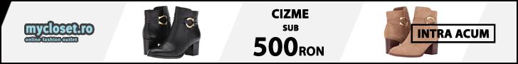 Mycloset.ro: Toamna/Iarna 2020 - Lichidare cizme sub 500 RON Dama