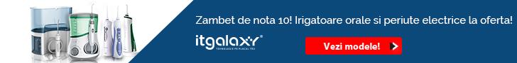 ITGalaxy.ro: Zambet de nota 10! Irigatoare orale si periute electrice LA OFERTA pe itgalaxy.ro!