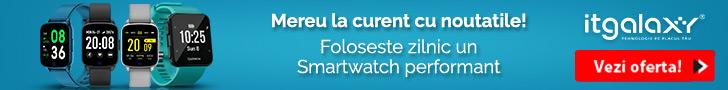 ITGalaxy.ro: Mereu la curent cu noutatile! Foloseste zilnic un Smartwatch performant