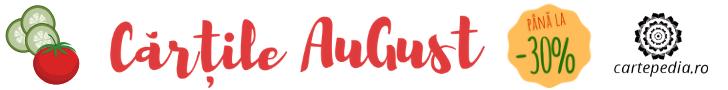 Cartepedia.ro: Cărțile AuGust- -30% reducere