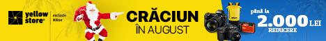 YellowStore.ro: Craciun in august