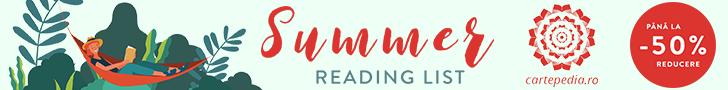Cartepedia.ro: Summer Reading List