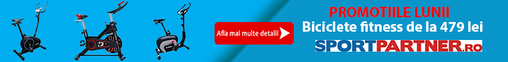 Sportpartner.ro: Promotiile lunii - biciclete fitness