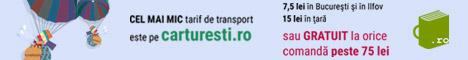 Carturesti.ro: Cel mai mic tarif de transport