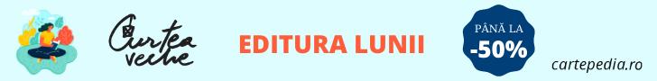 Cartepedia.ro: Curtea Veche este editura lunii pe Cartepedia.ro!