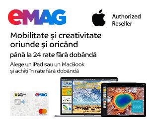 emag.ro: Campanie Mac & iPad, 01-07.07.2020