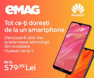 emag.ro: Campanie Huawei seria Y