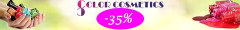 Colorcosmetics.ro: Reduceri de pana la 35% la oje!