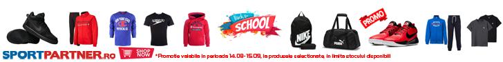 Sportpartner.ro: BacktoSchool - 2019-2020