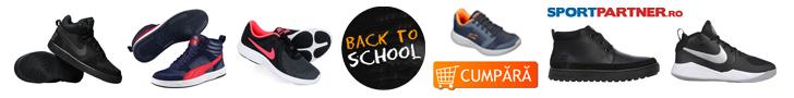 Sportpartner.ro: BacktoSchool - incaltaminte