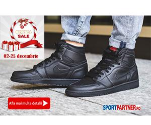 Sportpartner.ro: Promotie Craciun - incaltaminte barbati