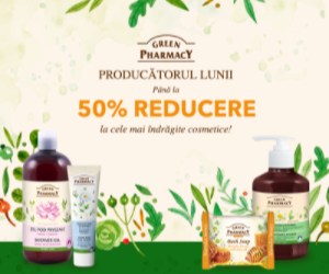 Vegis.ro: Producatorul lunii august: Green Pharmacy Pana la -50%